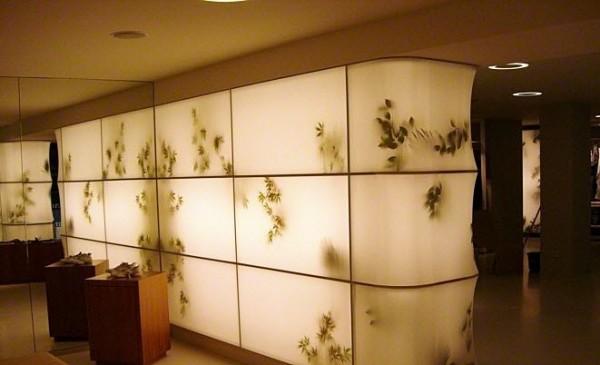 Description: Trần xuyên sáng - dùng trang trí mảng tường